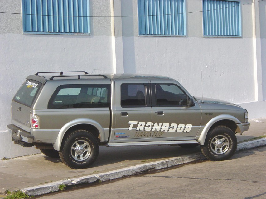 Tronador Hard Top Ford Ranger Cúpulas
