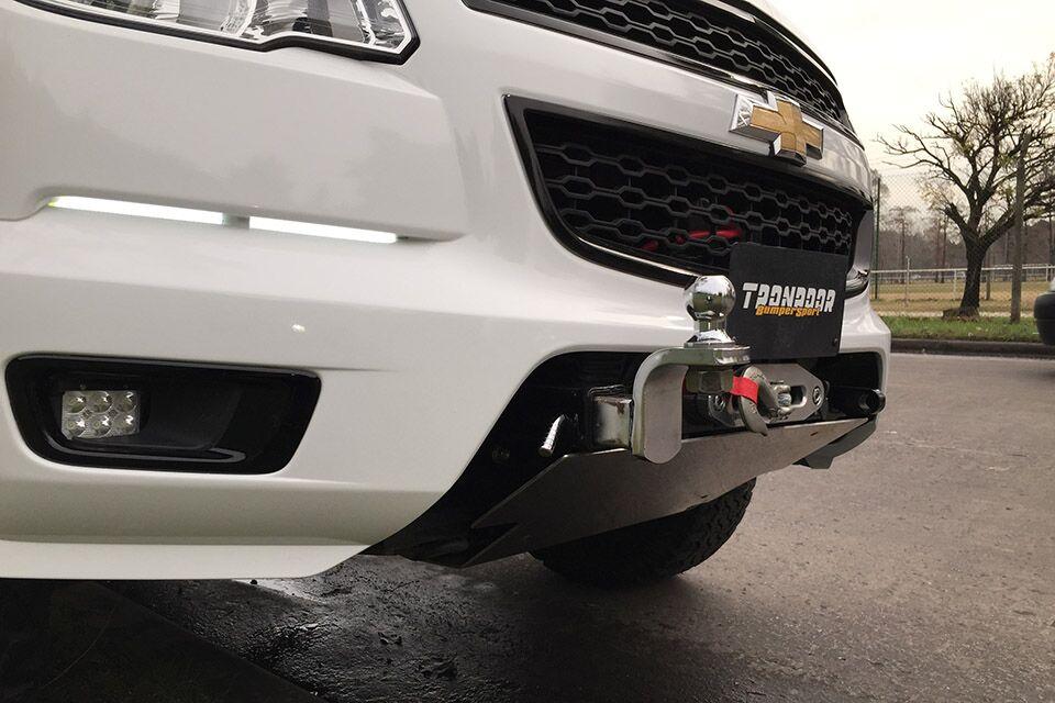 Malacate + Bumper Sport Chevrolet Doble Cabina