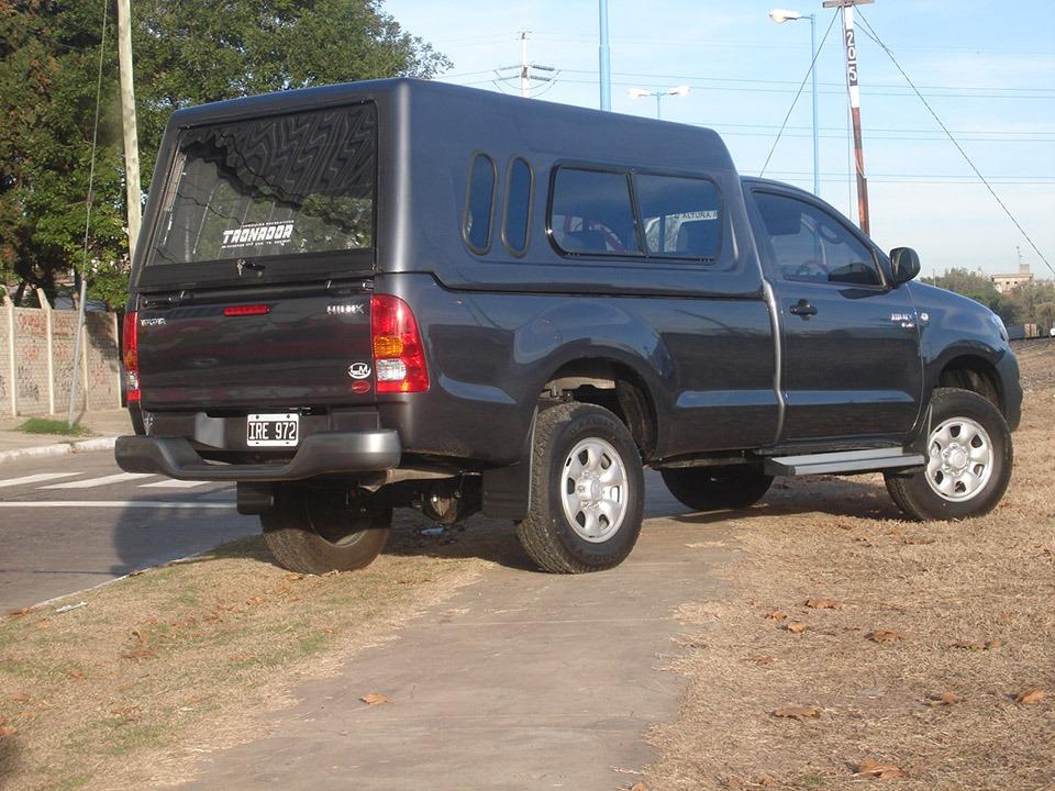 Cúpula Hard Top Toyota Hilux Cabina Simple