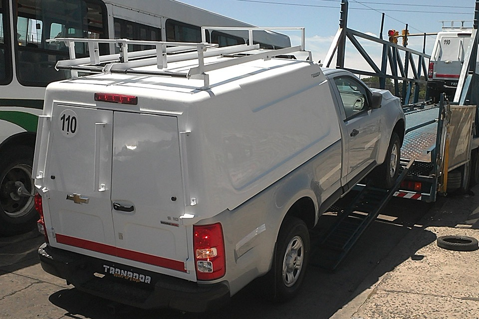Cúpula Puerta Libro Chevrolet S10 Cabina Simple Tronador
