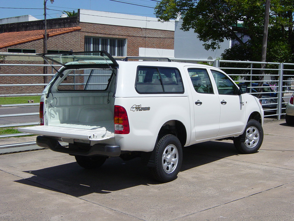 Hard Top Tronador Toyota Hilux